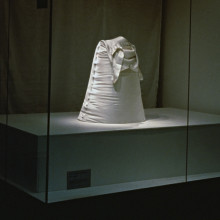 Sculpture, Steen & Strøm storefront window exhibition, Oslo, 1995